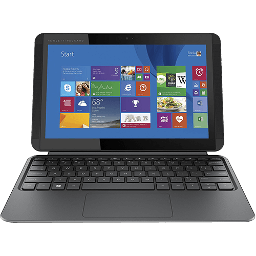 HP X2 10.1 Inch Intel Atom 2GB 32GB 2 In 1 Laptop   Silver