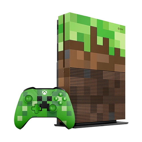 Xbox One S 1tb Inecraft limited Edition Bundle