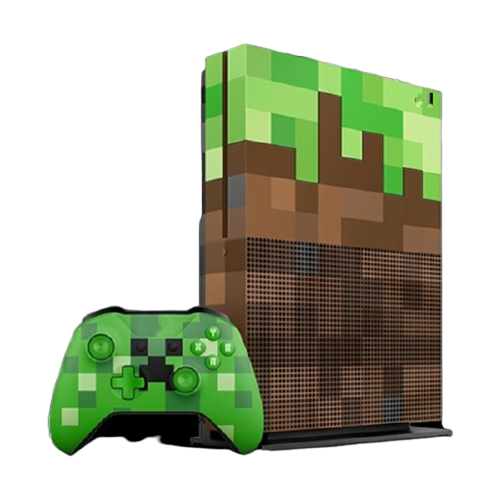 Xbox One S 1tb Inecraft limited Edition Bundle Repairs