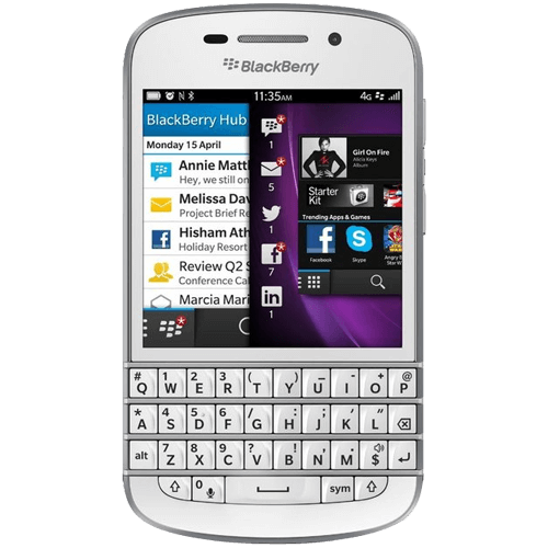Blackberry Q10 Mobile
